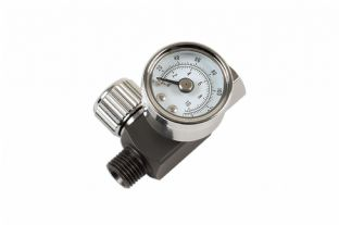 "Connect 30970 Needle Air Regulator 1/4"" for Spray Guns"
